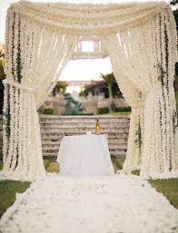 Curtains For Wedding Backdrop Unique Wedding Altar Ideas And Pictures Popsugar Home