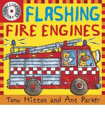 flashing fire engines tony mitton 9780753414897