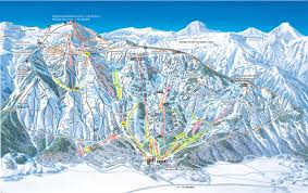 Cheyenne Map Hole Ski Resort Map