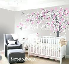Wall Tree Decals For Nursery Cherry Blossom Tree Wall Decal Nursery Together With Tree Decal