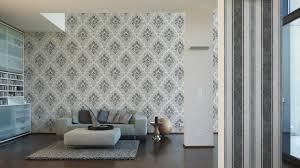 Wohnzimmer Joop Jette Joop Tapete Vlies Barock Anthrazit Metallic 33924 1