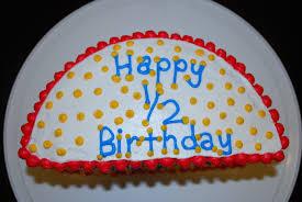 birthday cakes images amazing half birthday cake ideas half
