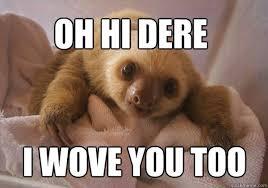 Sloth Whisper Meme - sloth memes funny rape sloth pictures