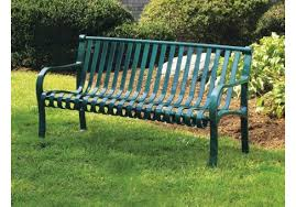 park benches 4 foot oglethorpe park bench commercial site furnishings