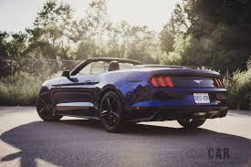 ford canada mustang review 2016 ford mustang ecoboost convertible canadian auto review