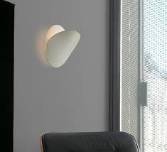 applique chambre design applique murale ovo blanc ø24cm faro luminaires nedgis