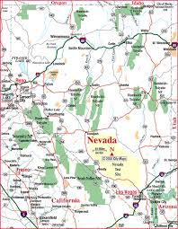 nevada road map highway map of nevada aaccessmaps com