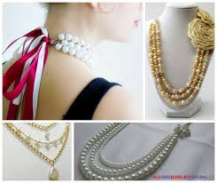 jewelry making pearl necklace images 17 diy pearl necklace patterns png