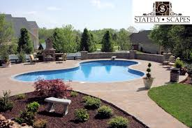 Fireplace Cookeville Tn by Stately Scapes Matrix Pools