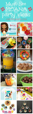 the party ideas 13 must see disney moana birthday party ideas catch my party