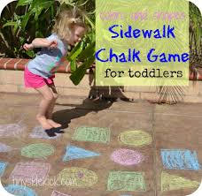 best 25 sidewalk chalk games ideas on pinterest hopscotch