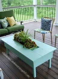 ana white outdoor coffee table outdoor coffee table with center planter box by keystonedesign