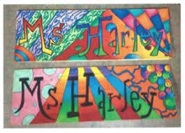 pattern art name harley katelyn art projects