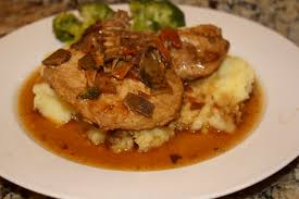 turkey gravy with porcini mushrooms chow and chatter pork chops in a porcini gravy