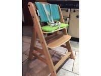 Swedish Wooden High Chair Wooden Baby U0026 Toddler High Chairs For Sale Gumtree