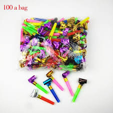 noise makers wholesale new fashion birthday blowing whistle volume