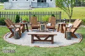 Ideas For Fire Pits In Backyard by Backyard Fire Pit Seating Home Fireplaces Firepits Pics On