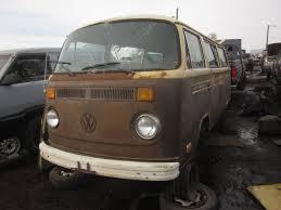 1970 volkswagen vanagon junkyard find 1978 volkswagen transporter the truth about cars