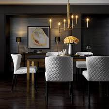 furniture home decor and wedding registry crate and barrel a statement chandelier to wow the dinner party