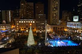 photos of christmas in san francisco from union square to the