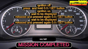 skoda octavia 3 skoda rapid oil service inspection reset how to