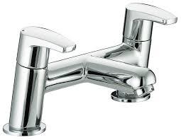 Bristan Thermostatic Bath Shower Mixer Bristan Or Bsm C Orta Bath Shower Mixer Chrome Plated Amazon Co