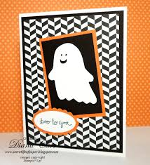 stampin up halloween stamps the secret life of paper boo to you halloween card
