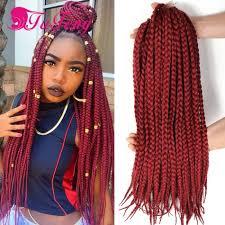 Braid Hair Extensions by Box Braid Crochet Hair Extensions Hairpieces For Women Box Braids