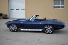 1966 corvette trophy blue 1966 corvette ebay