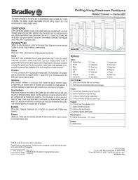 Toilet Partitions Material Specifications