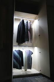 home interior modern led closet fixtures recessed led wardrobe