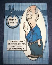 handmade greeting card 3d humorous birthday with an old man ebay