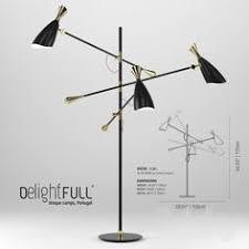 Yumi Floor Lamp Fontana Arte Yumi Black Interior Floor Lamp 3dsky Pinterest