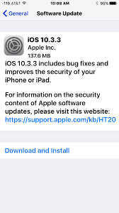 ios 10 3 3 update released for iphone ipad ipsw download links