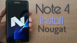 Install Android Nougat On Galaxy Note 8 0 Install Android 7 1 2 Nougat For Galaxy Note 4 Resurrection Remix