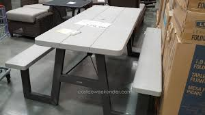 outdoor ping pong table costco lifetime 6ft folding table costco folding tables costco lifetime