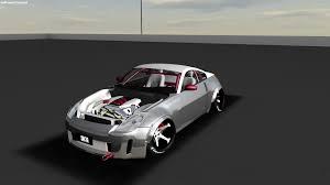 Nissan 350z Custom - custom nissan 350z z33 drift missle by stargazerdesign on deviantart