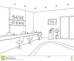bank building sketch stock images image 30140914
