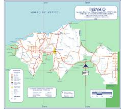 Mexico Road Map by Tabasco Mexico Road Map World Atlas Size 1500x1350