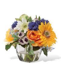 decorate your tabletop with gerbera rose u0026 cornflower silk flower