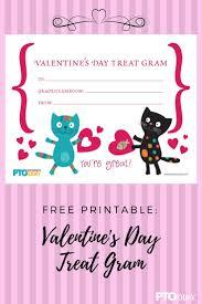 send a gram free printable s day treat gram kids can send any