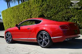 bentley sport coupe 2013