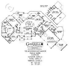 luxury ranch house plans for entertaining mountain mist manor house plan craftsman house plans