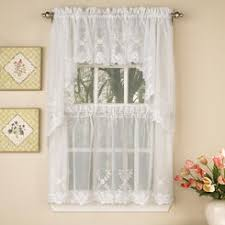 120 Inch Sheer White Curtains White 60 Inch 36 Inch Sheer Voile Tier Panel