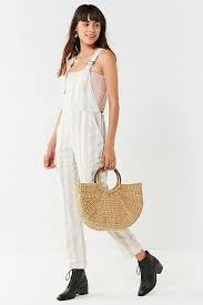 overall jumpsuit martin striped overall jumpsuit outfitters
