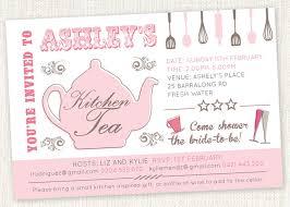 kitchen tea ideas kitchen tea teapot shower invitations bridal tea