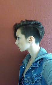 classic undercut hairstyle got an undercut pixie i looove it pixie cuts pinterest