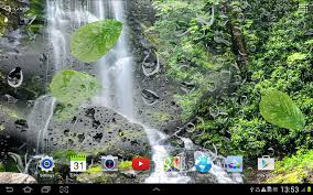 waterfalls live wallpaper android apps on google play