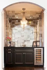 Mirror Backsplash Tiles by Best 25 Mirror Wall Tiles Ideas That You Will Like On Pinterest