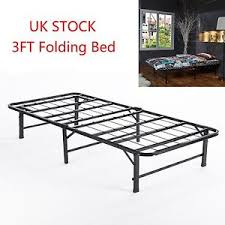 Folding Single Guest Bed Folding Guest Bed 3ft Single Folding Away Up Bed Metal Bed Frame